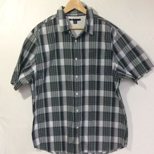 (NWOT) Volcom X Factor Plaid Button Down, SZ XXL